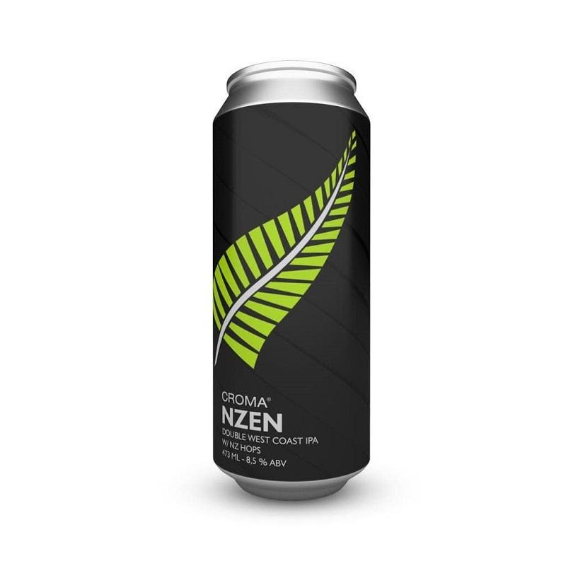 Cerveja Croma NZen Double West Coast Ipa Lata 473 ml