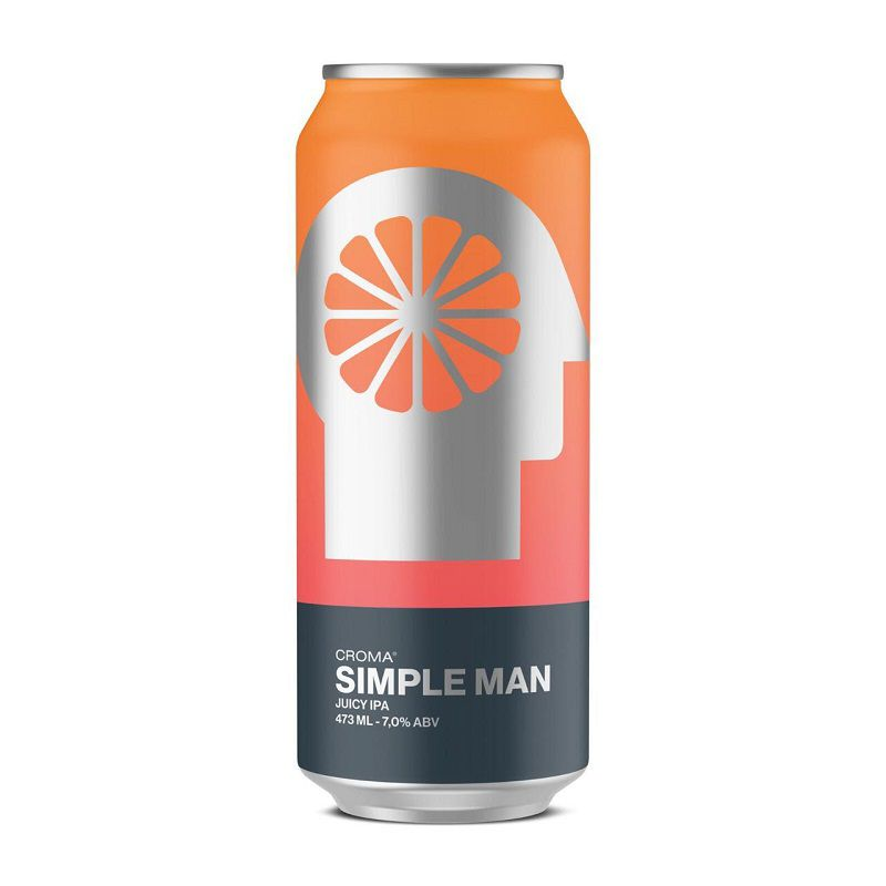 Cerveja Croma Simple Man Juicy Ipa Lata 473 ml