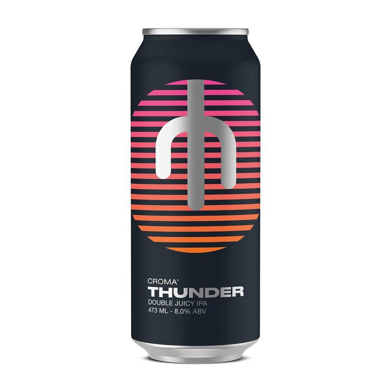 Cerveja Croma Thunder Double Juicy Ipa Lata 473 ml