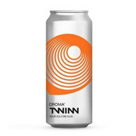 Cerveja Croma Twin Sour Ale com Cajá Lata 473 ml