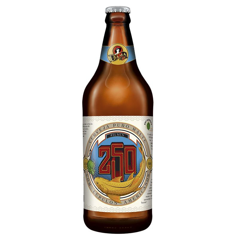 Cerveja Dama Bier 250 600 ml