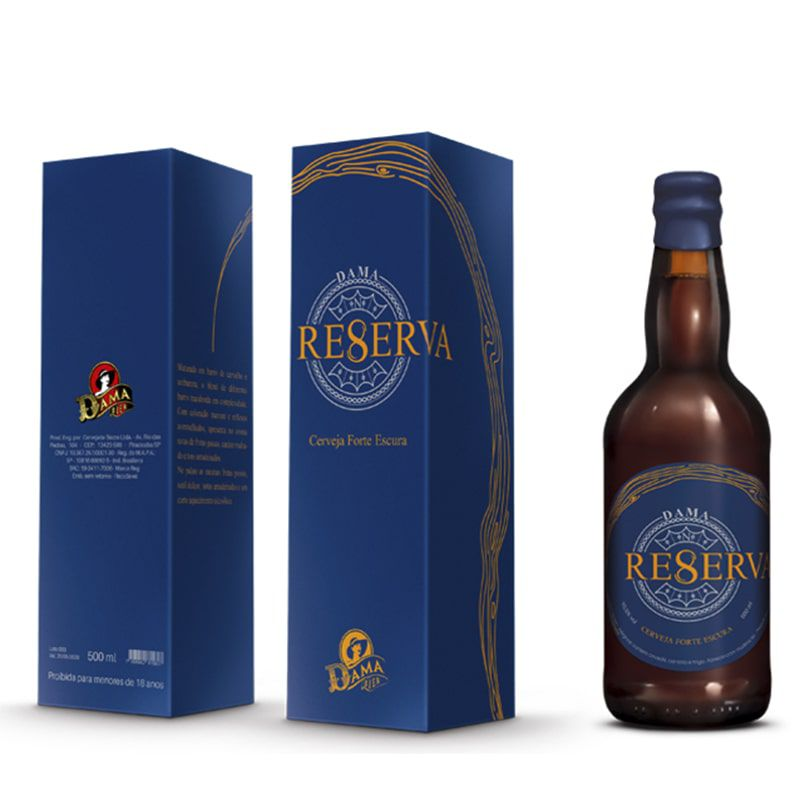 Cerveja Dama Reserva 8 500 ml