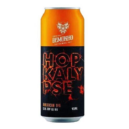 Cerveja Demonho Hopkalypse Lata 473 ml
