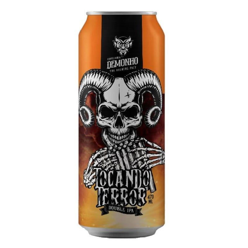 Cerveja Demonho Tocando o Terror Double Ipa Lata 473 ml