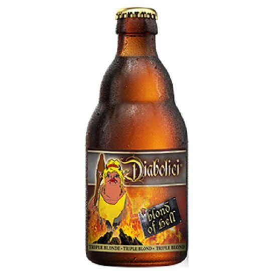 Cerveja Diabolici Blond Of Hell 330 ml