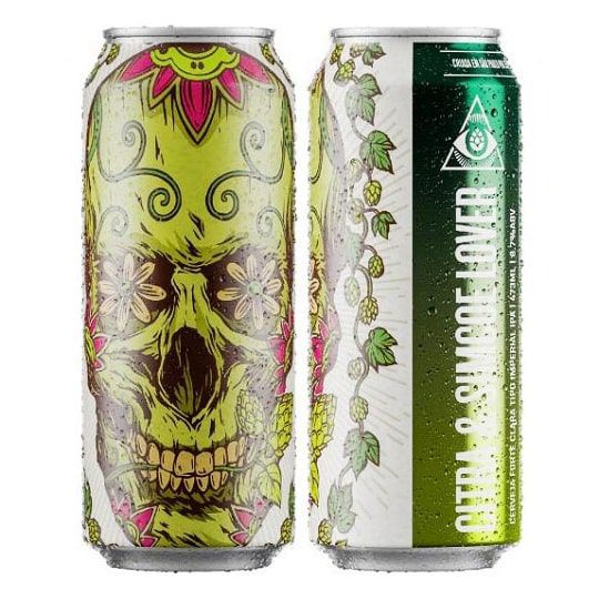 Cerveja Dogma Citra e Simcoe Lover Lata 473 ml