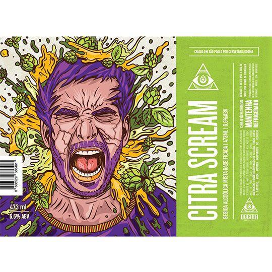 Cerveja Dogma Citra Scream Lata 473 ml