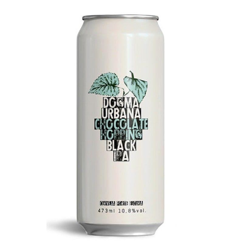Cerveja Dogma e Urbana Chocolate Hopping Black Ipa 473 ml