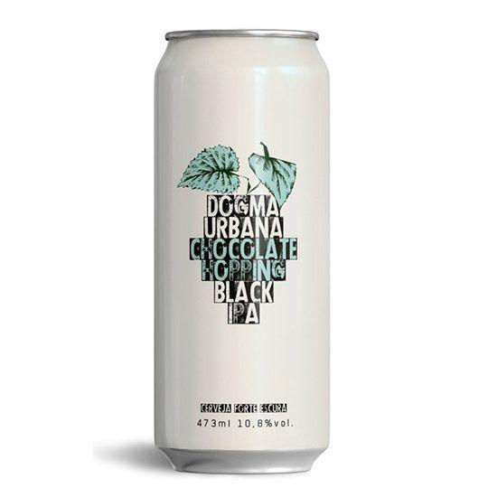 Cerveja Dogma e Urbana Chocolate Hopping Black Ipa Lata 473 ml