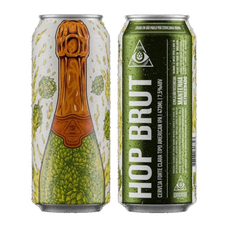 Cerveja Dogma Hop Brut Lata 473 ml