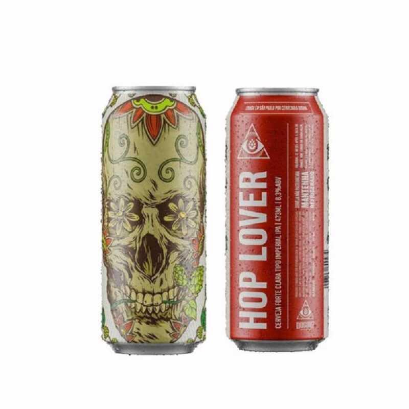 Cerveja Dogma Hop Lover Double IPA Lata 473 ml