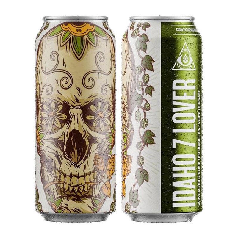 Cerveja Dogma Idaho 7 Lover Double Ipa Lata 473 ml