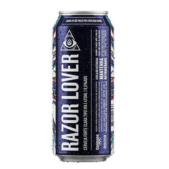 Cerveja Dogma Razor Lover Lata 473 ml