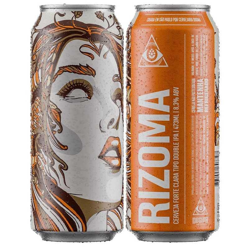 Cerveja Dogma Rizoma Lata 473 ml
