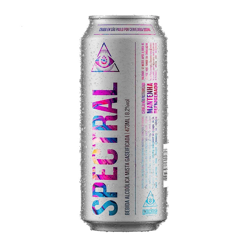 Cerveja Dogma Spectral Double Ipa com Lactose Lata 473 ml