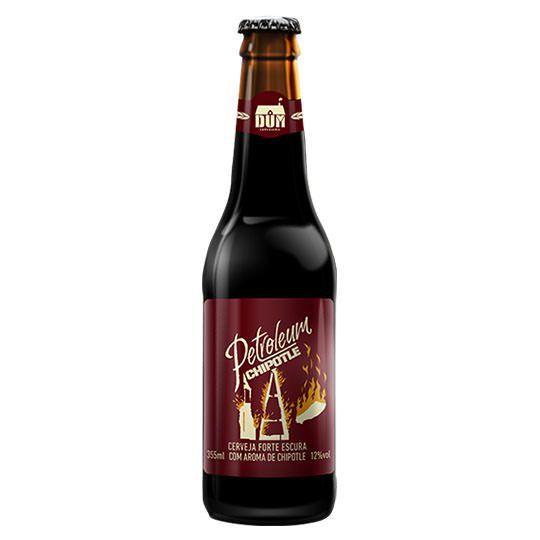 Cerveja DUM Petroleum Chipotle 355 ml