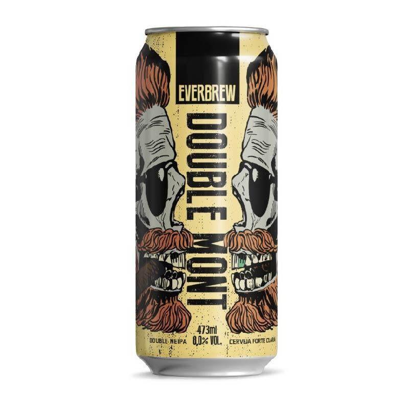 Cerveja Everbrew Double Mont Lata 473 ml