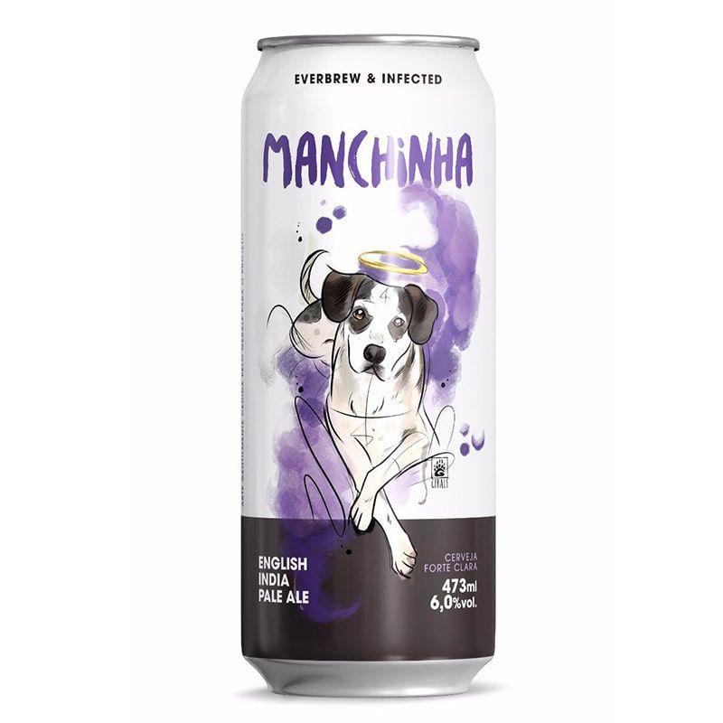 Cerveja Everbrew e Infected Manchinha Lata 473 ml