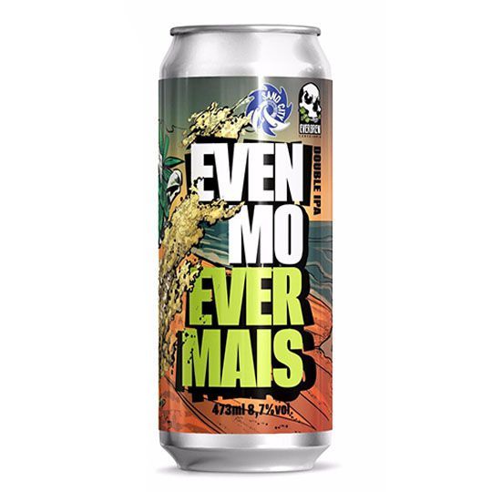 Cerveja Everbrew Even Mo Ever Mais Lata 473 ml