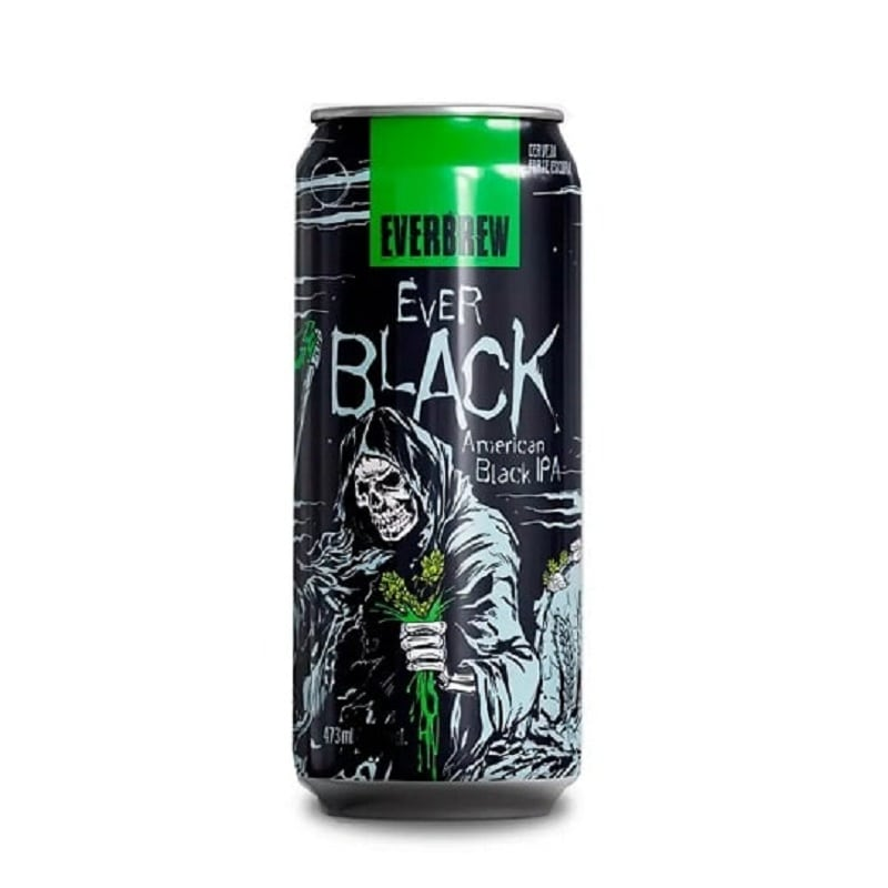 Cerveja Everbrew Ever Black Lata 473 ml