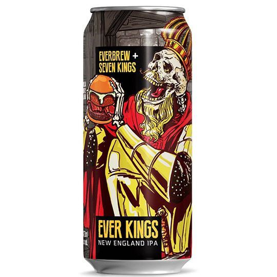 Cerveja Everbrew Ever Kings Lata 473 ml