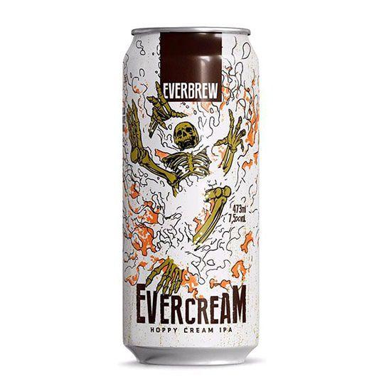 Cerveja Everbrew Evercream Lata 473 ml