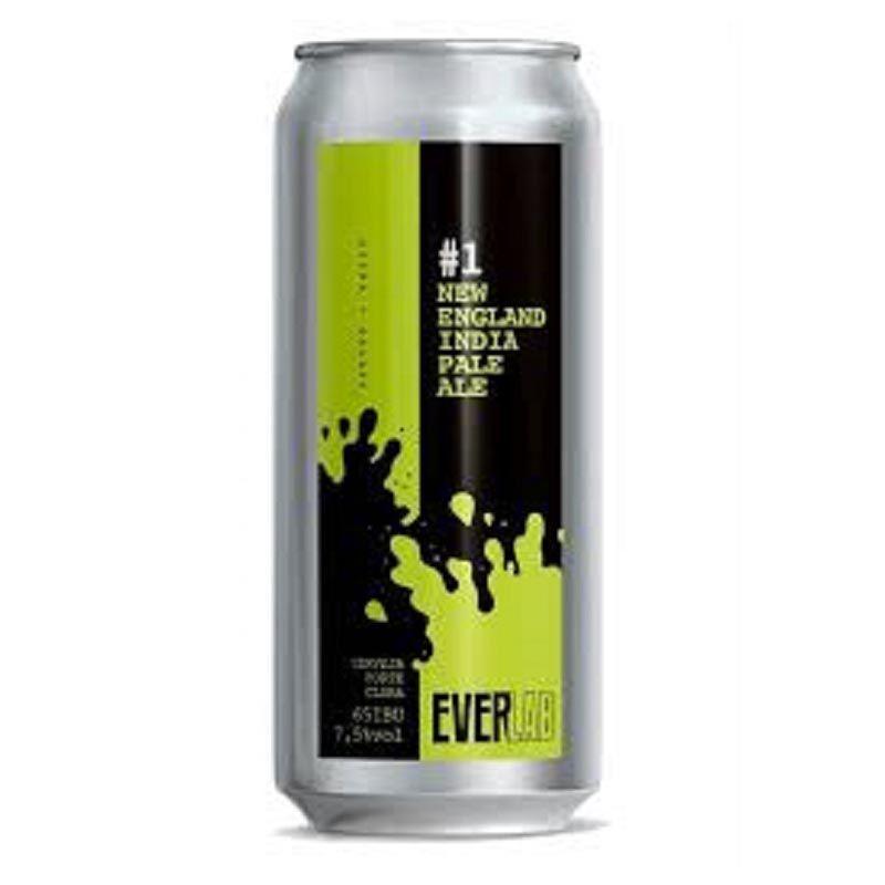 Cerveja Everbrew EverLab Double Ipa Lata 473 ml