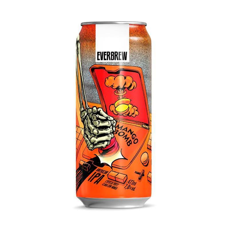 Cerveja Everbrew Mango Bomb Lata 473 ml