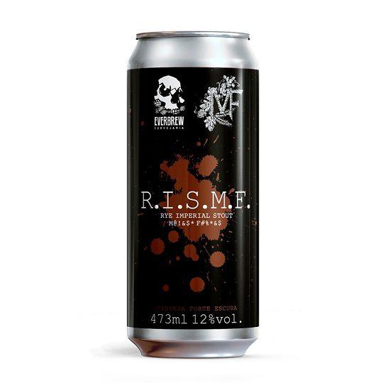 Cerveja Everbrew R.I.S.M.F Lata 473 ml