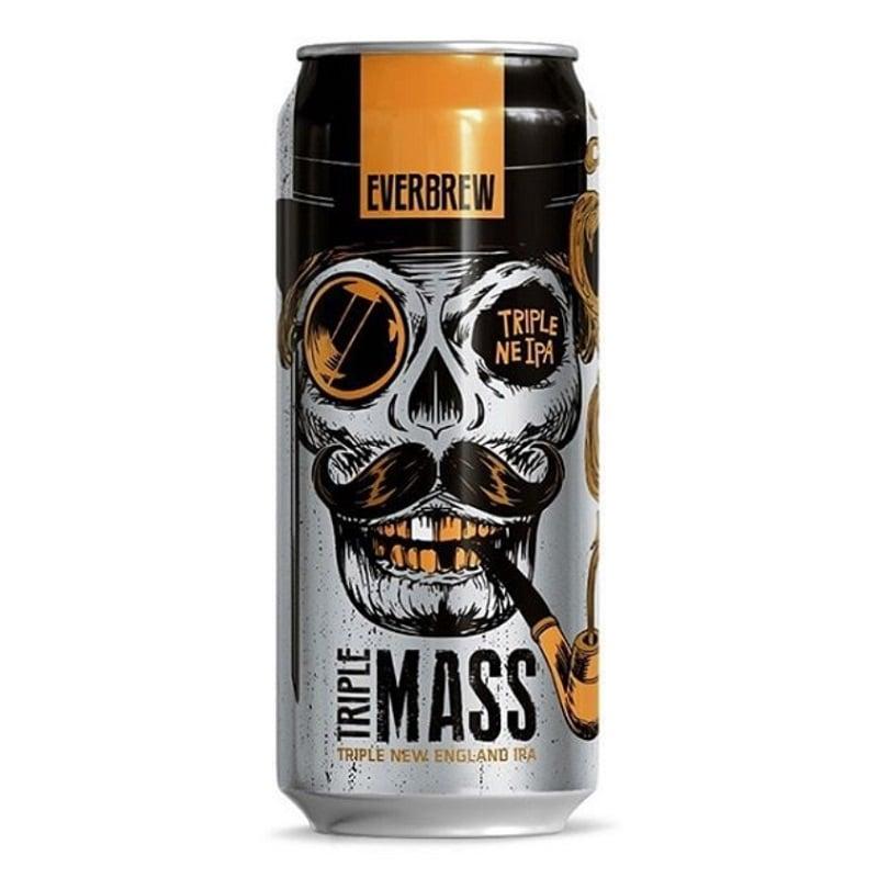 Cerveja Everbrew Triple Mass Lata 473 ml