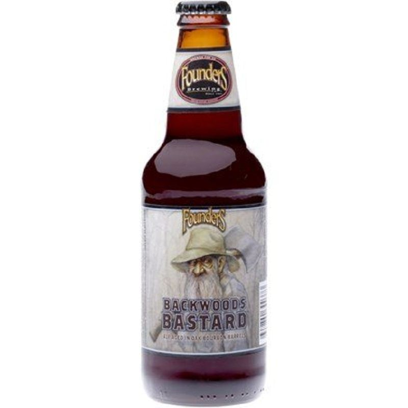 Cerveja Founders Backwoods Bastard 355 ml