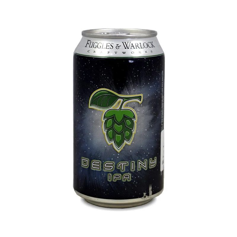 Cerveja Fuggles e Warlock Destiny Ipa Lata 330 ml