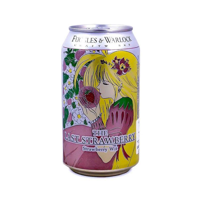 Cerveja Fuggles e Warlock The Last Strawberry Wit 330 ml