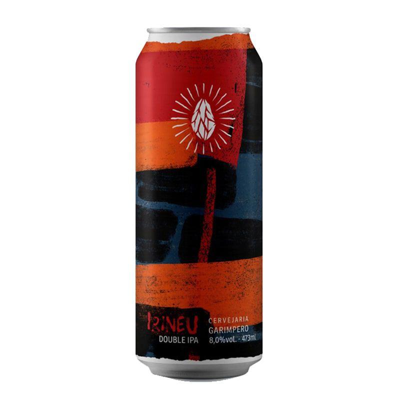 Cerveja Garimpero Irineu Double Ipa Lata 473 ml
