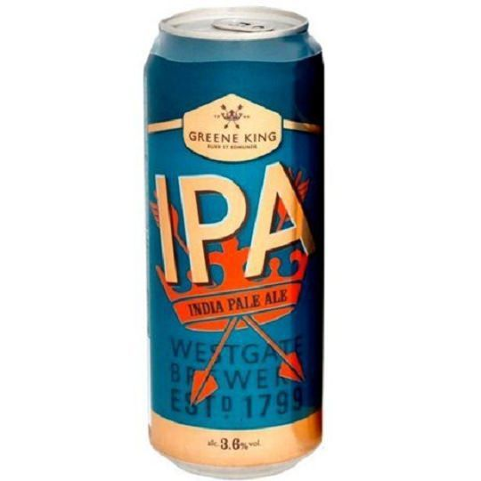 Cerveja Greene King Ipa Lata 500 ml