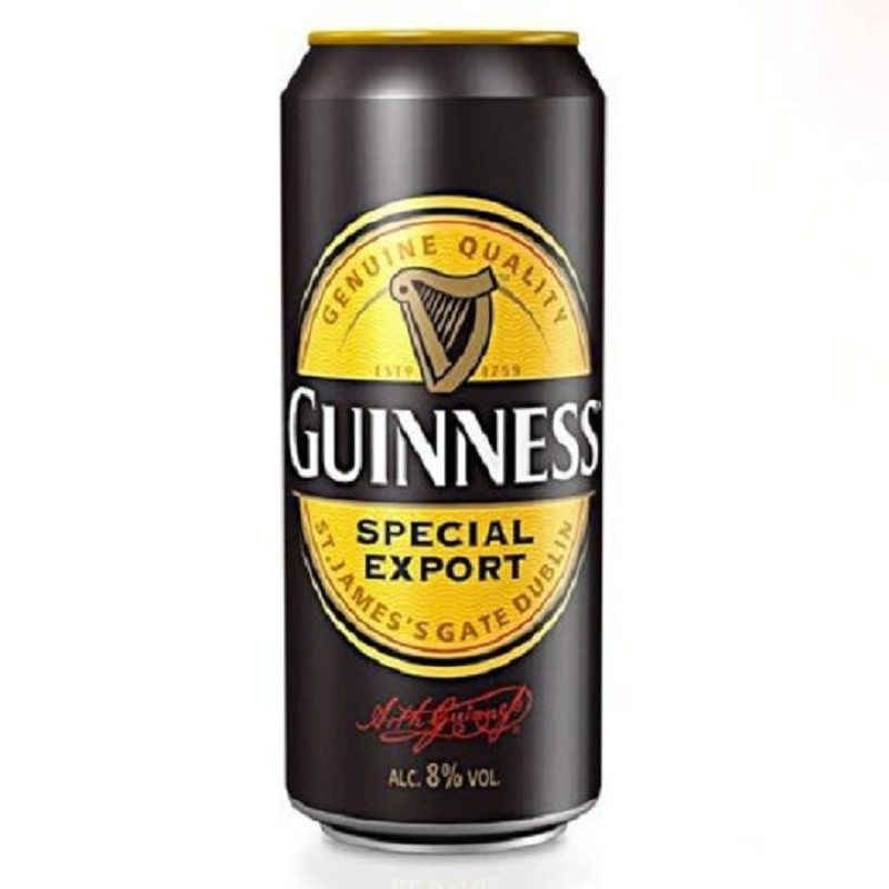 Cerveja Guinness Special Export Lata 500 ml