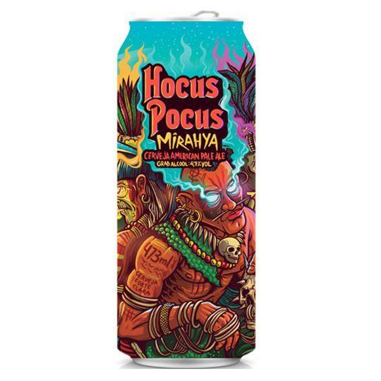 Cerveja Hocus Pocus Mirahya Lata 473 ml - Apenas para São Paulo Capital