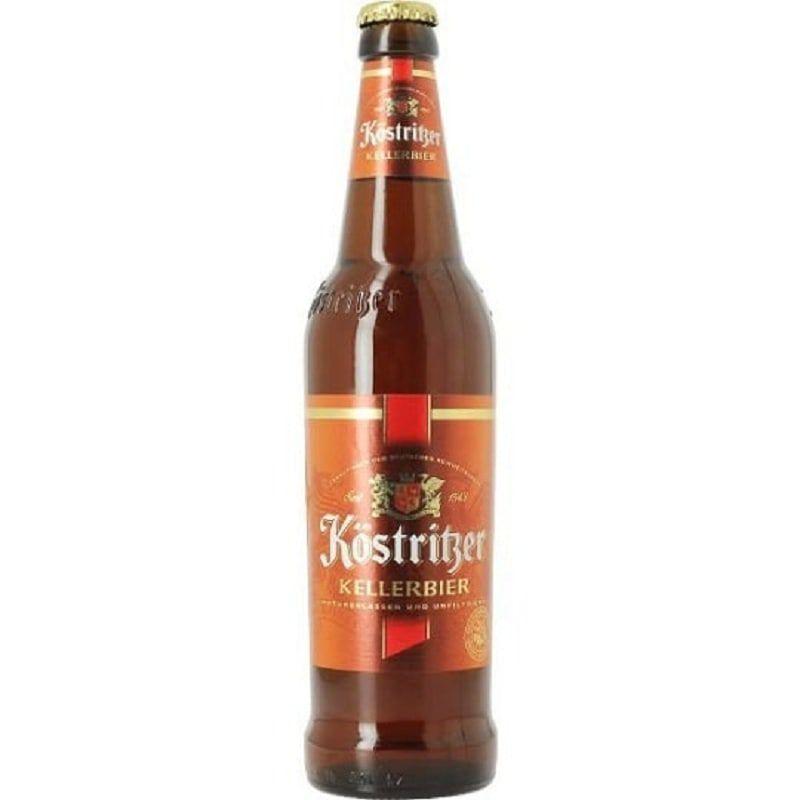 Cerveja Kostritzer Kellerbier 500 ml