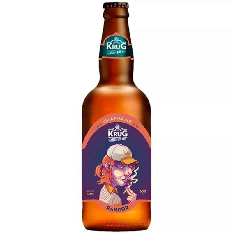 Cerveja Krug Rancor Ipa 500 ml