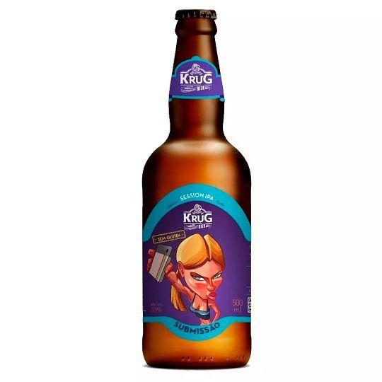 Cerveja Krug Submissão Session Ipa 500 ml