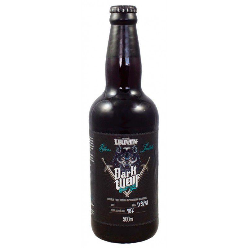 Cerveja Leuven Dark Wolf Quadrupel 500 ml
