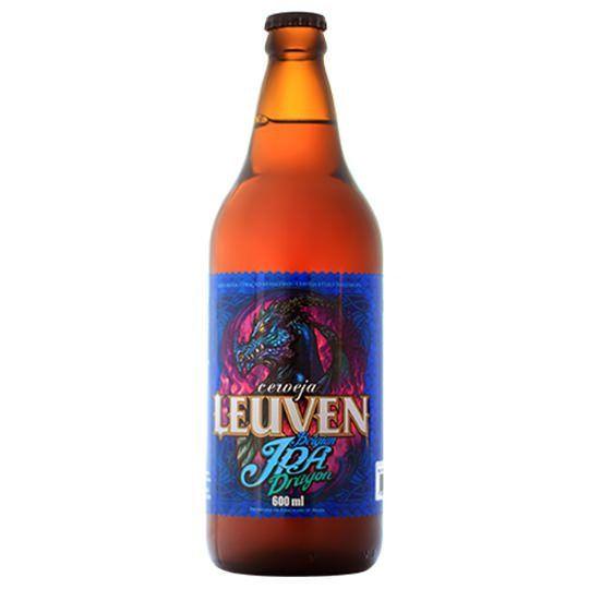 Cerveja Leuven Dragon Ipa 600 ml