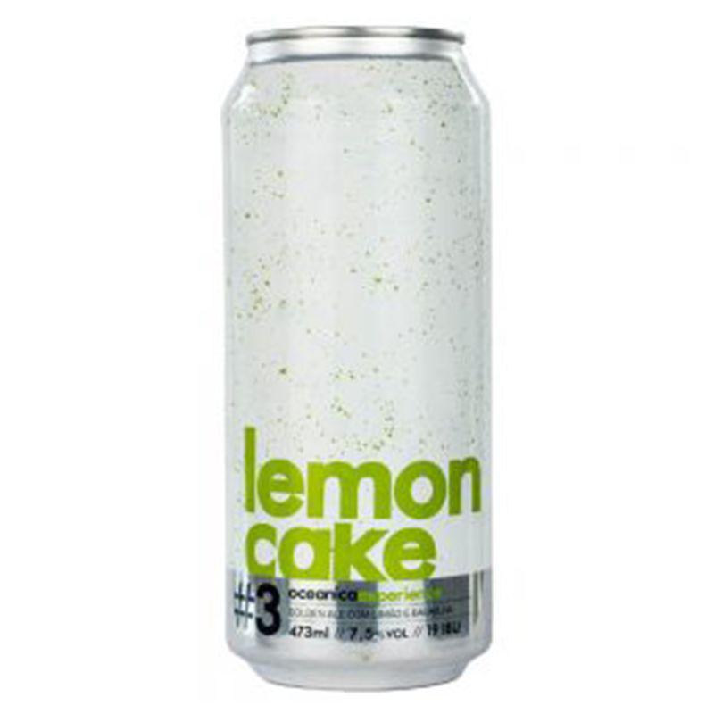 Cerveja Oceânica Lemon Cake 473 ml