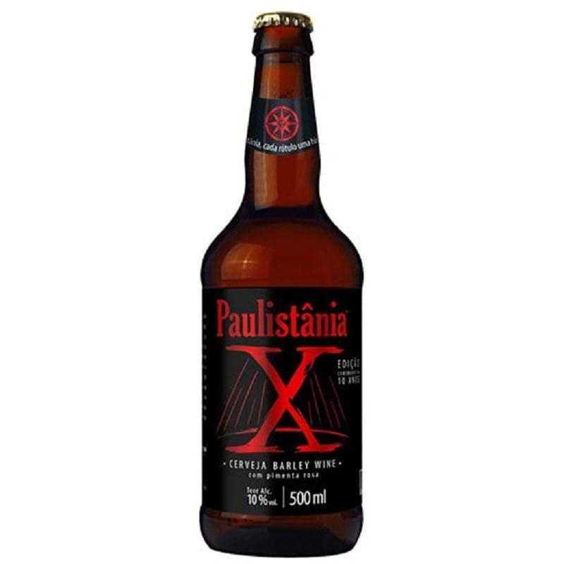 Cerveja Paulistânia X Barley Wine 500 ml