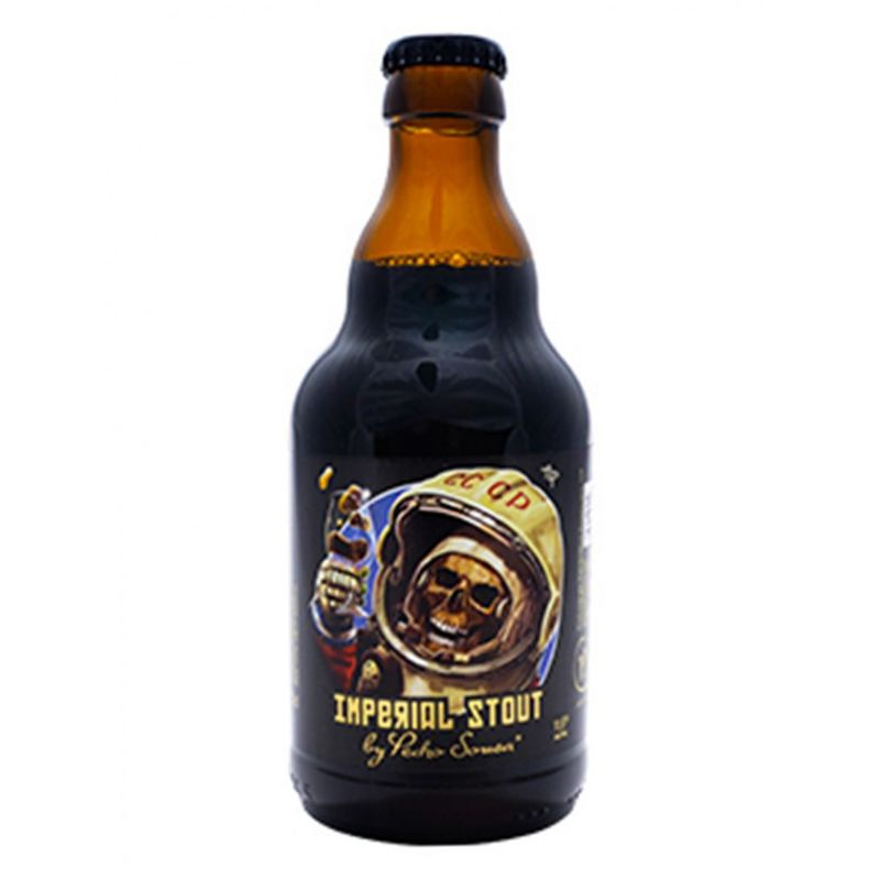 Cerveja Post Scriptum Imperial Stout Bourbon Barrel 330 ml