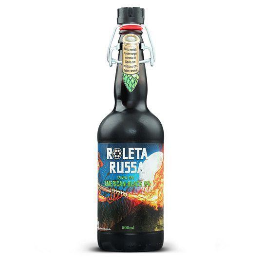 Cerveja Roleta Russa Black Ipa 500 ml