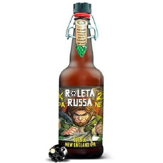 Cerveja Roleta Russa Double New England Ipa 500 ml