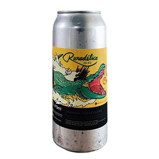 Cerveja Ruradélica Crocodilo Double Ipa Lata 473 ml