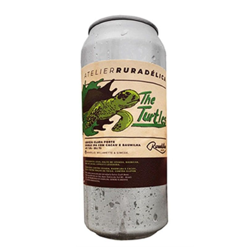 Cerveja Ruradélica The Turtles Double Ipa Lata 473 ml