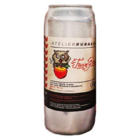 Cerveja Ruradélica Twin Peach Pale Ale Lata 473 ml